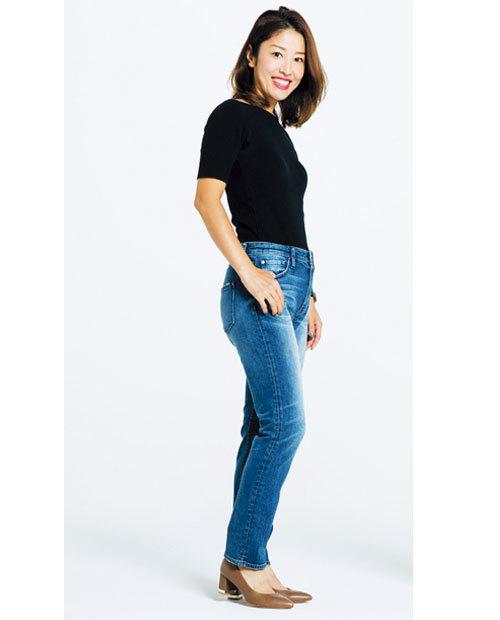 カービーな体型でも履けるデニムを探して!噂のデニムを履き比べてみました_1_2-2