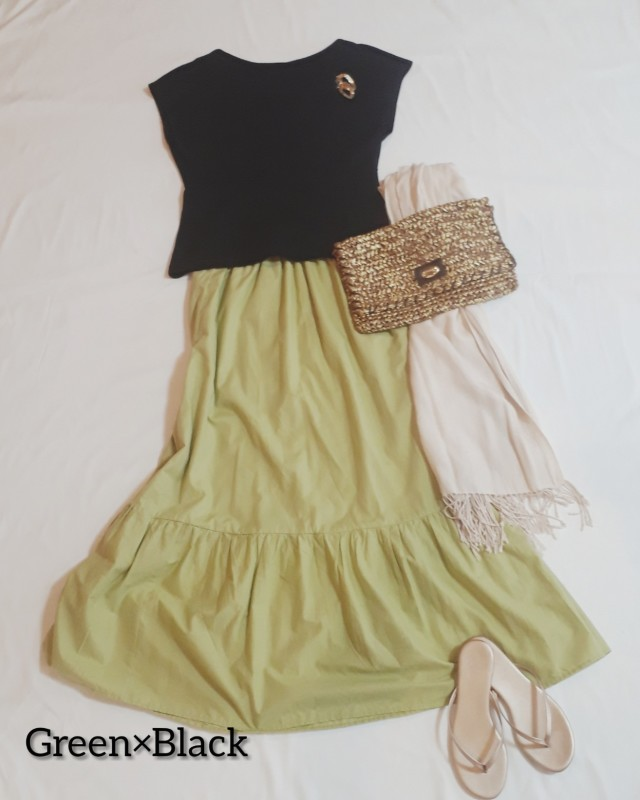 【GU】大人も着られる夏のティアードスカートを発見!_1_5
