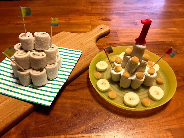 パーティーにもおすすめ☆ロールサンドイッチのケーキ_1_1