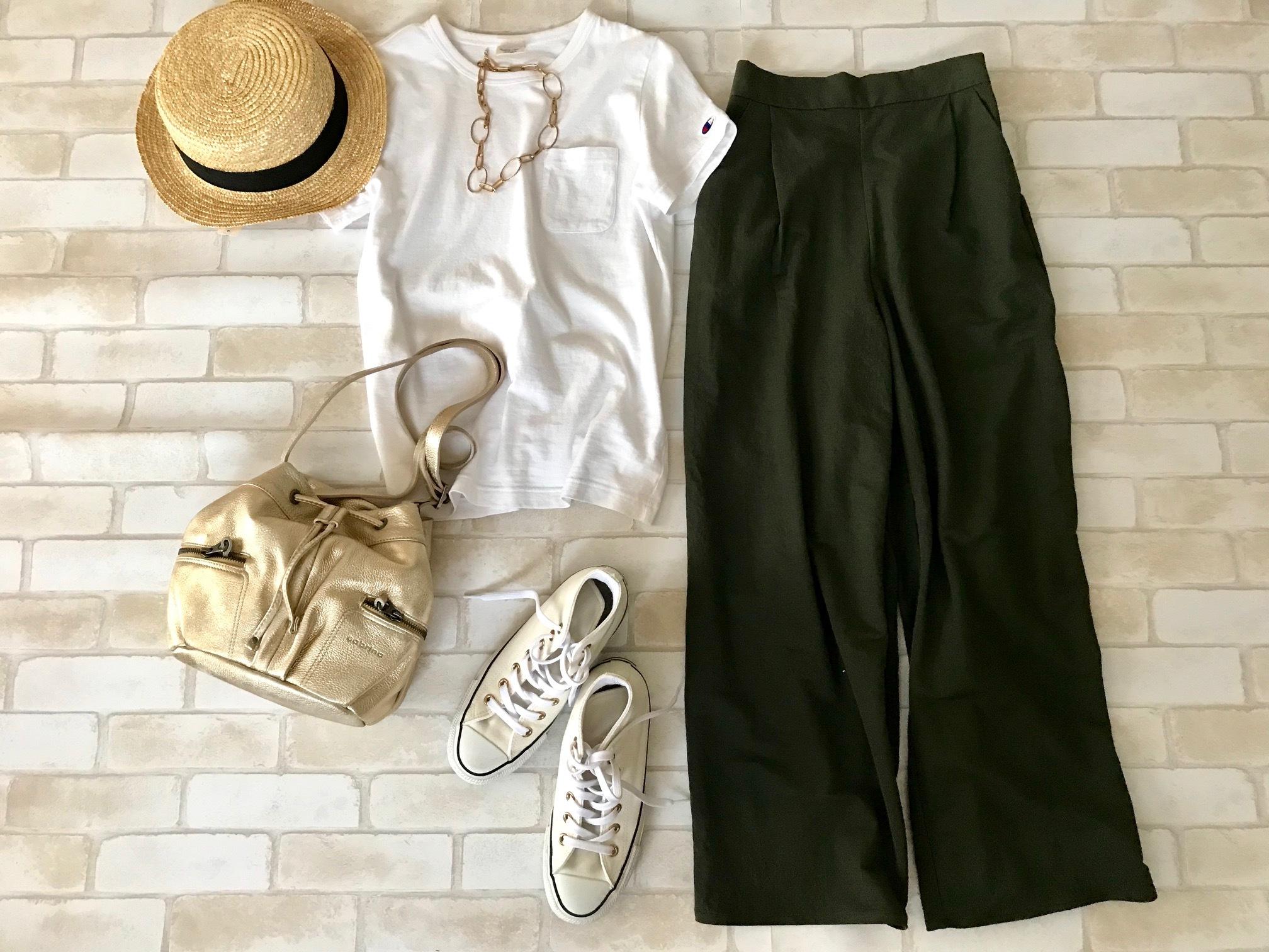 真夏の通勤服、名品「GU」2点で涼しい5日間_1_5-1