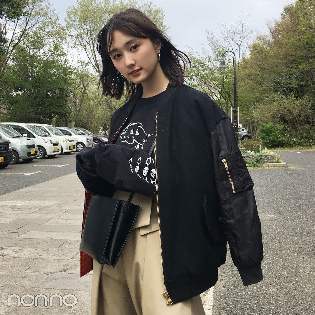 鈴木友菜のコーデの主役はRIM.ARKのチノスカート♡ ロンTで今っぽ可愛く!【モデルの私服スナップ】_1_2-1