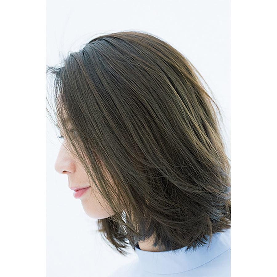 横から見た人気ボブヘアスタイル6位の髪型
