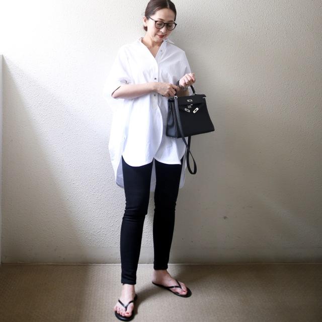 困った時の白いシャツ。_1_5