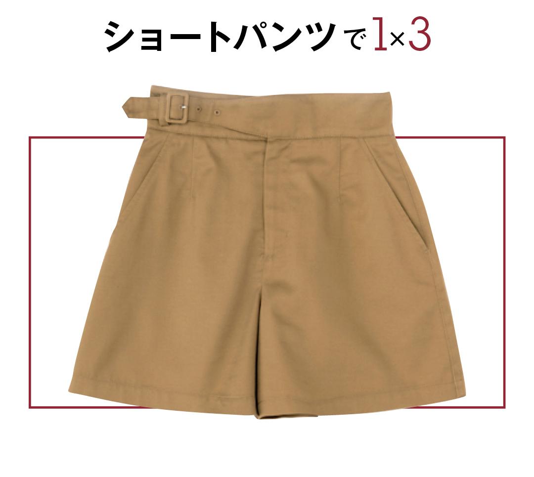 2019秋トレンド速報★ ブラウンのショートパンツなら、今から秋まで着回せる!_1_2