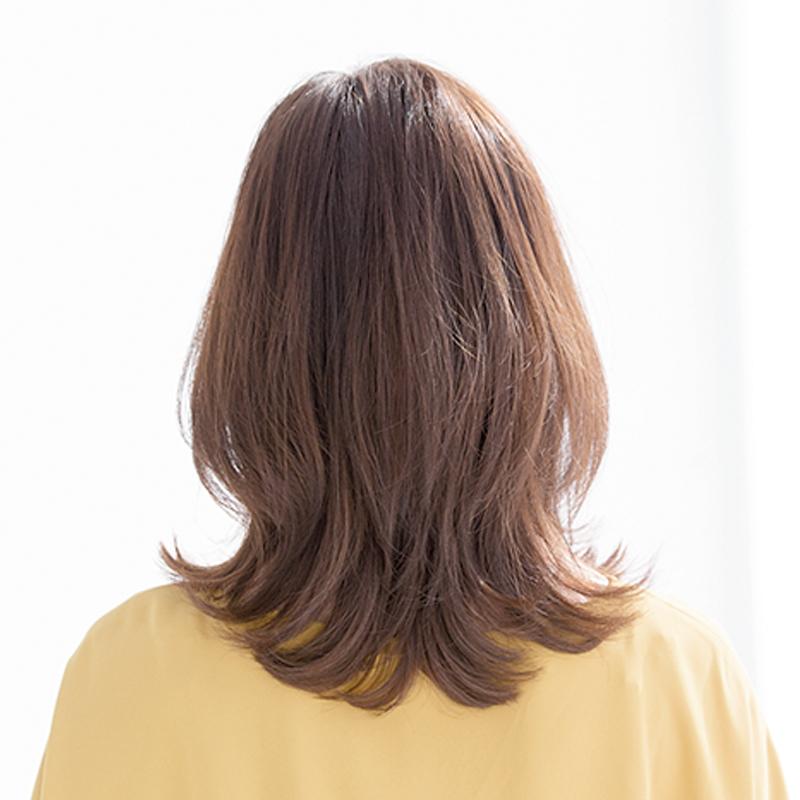 40代のミディアムヘアスタイル|2019年間人気ランキングTOP10_1_6