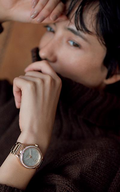 パテック フィリップのローズゴールドの時計