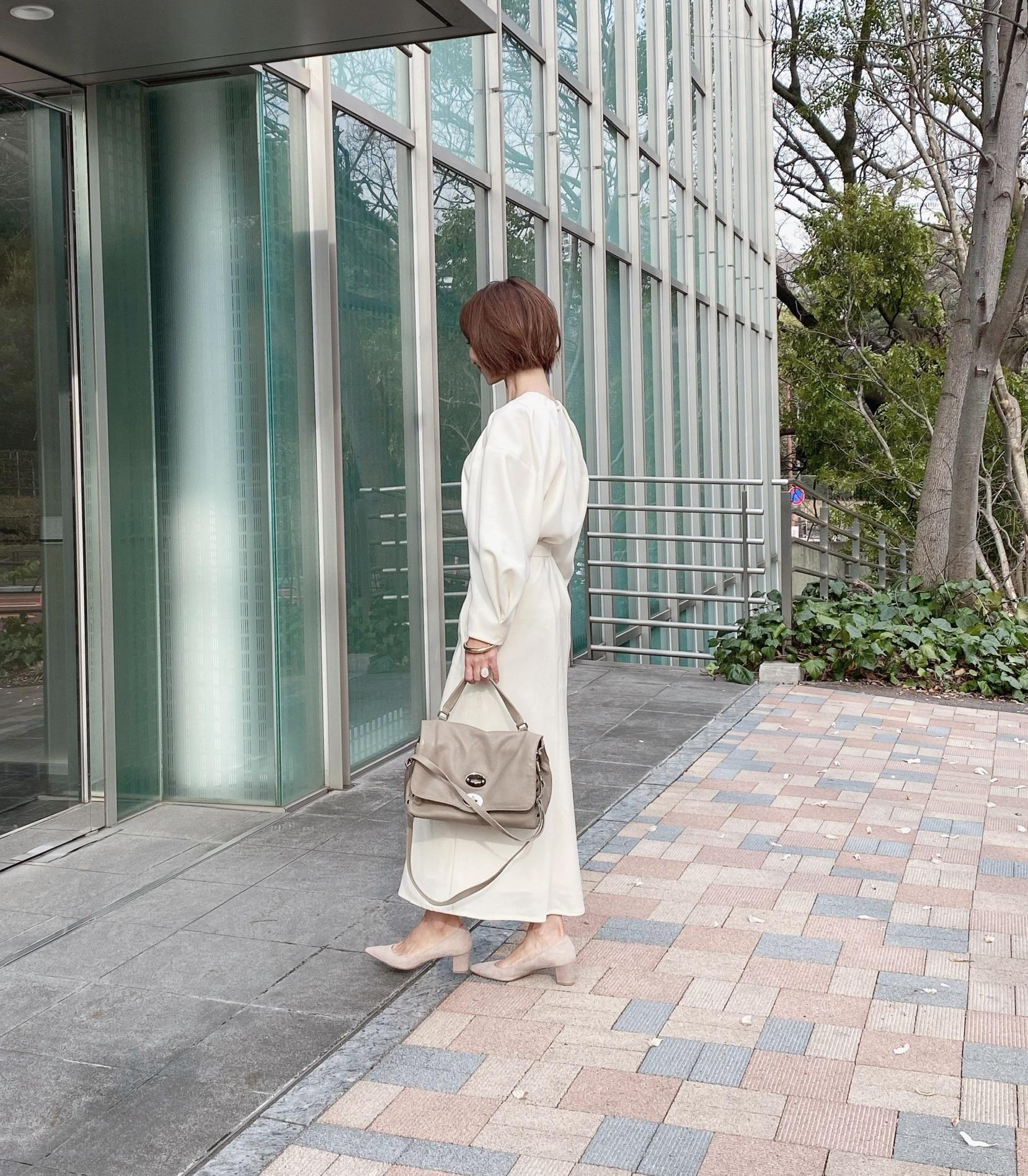 ハンサムロングスカート 〜ホワイト〜_1_5