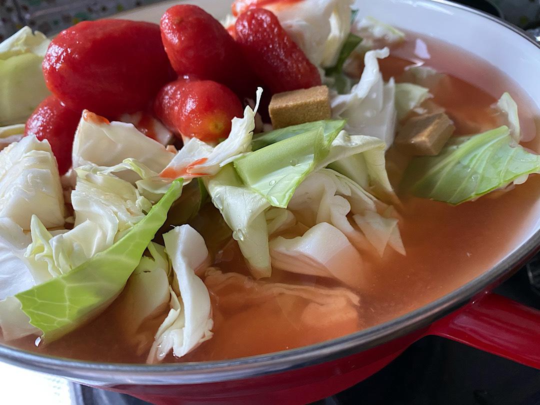 【おうち時間☺︎】デトックススープを作ってみた_1_1
