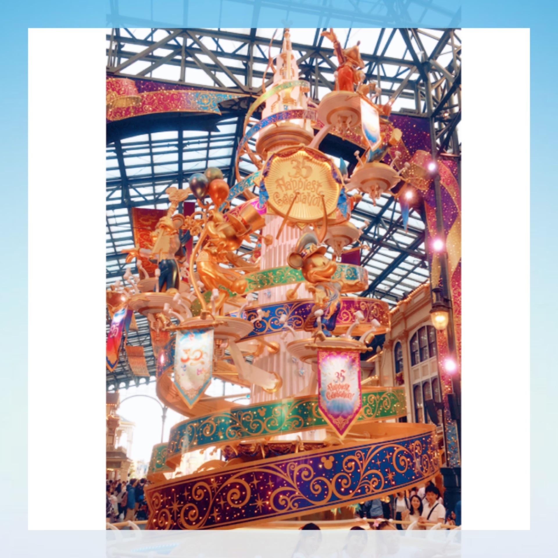 Tokyo Disneyland《 35 Happiest Gelebration! 》に行ってきました♫_1_3-1