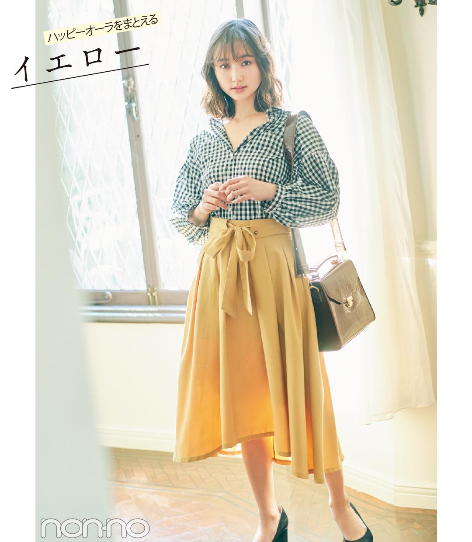 優子&友菜&優華が着る! 盛れる♡ きれい色スカートのコーデ4選_1_1-1