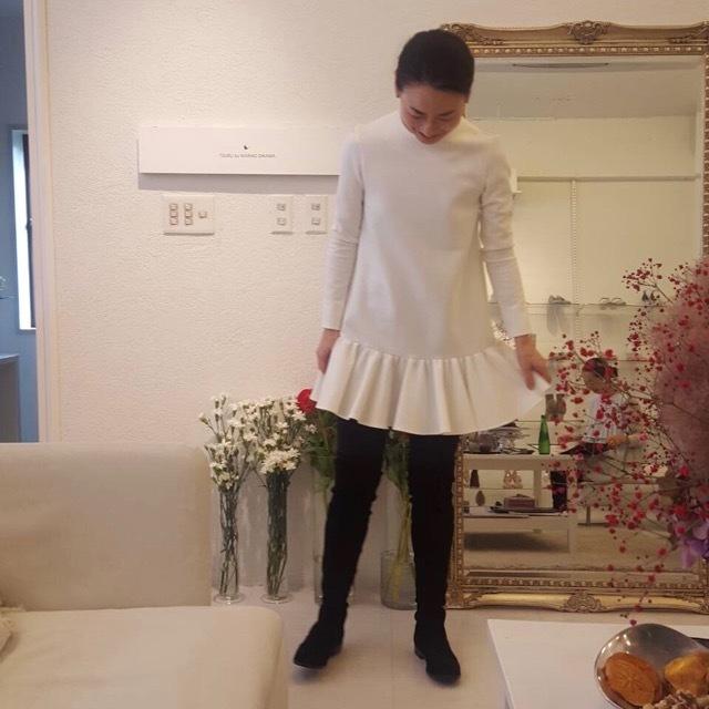"""他に見掛けないデザインが魅力♡品良く決まる""""TSURU by Mariko""""の Oikawa 2019 WINTER  EXHIBITIONへ_1_4-2"""