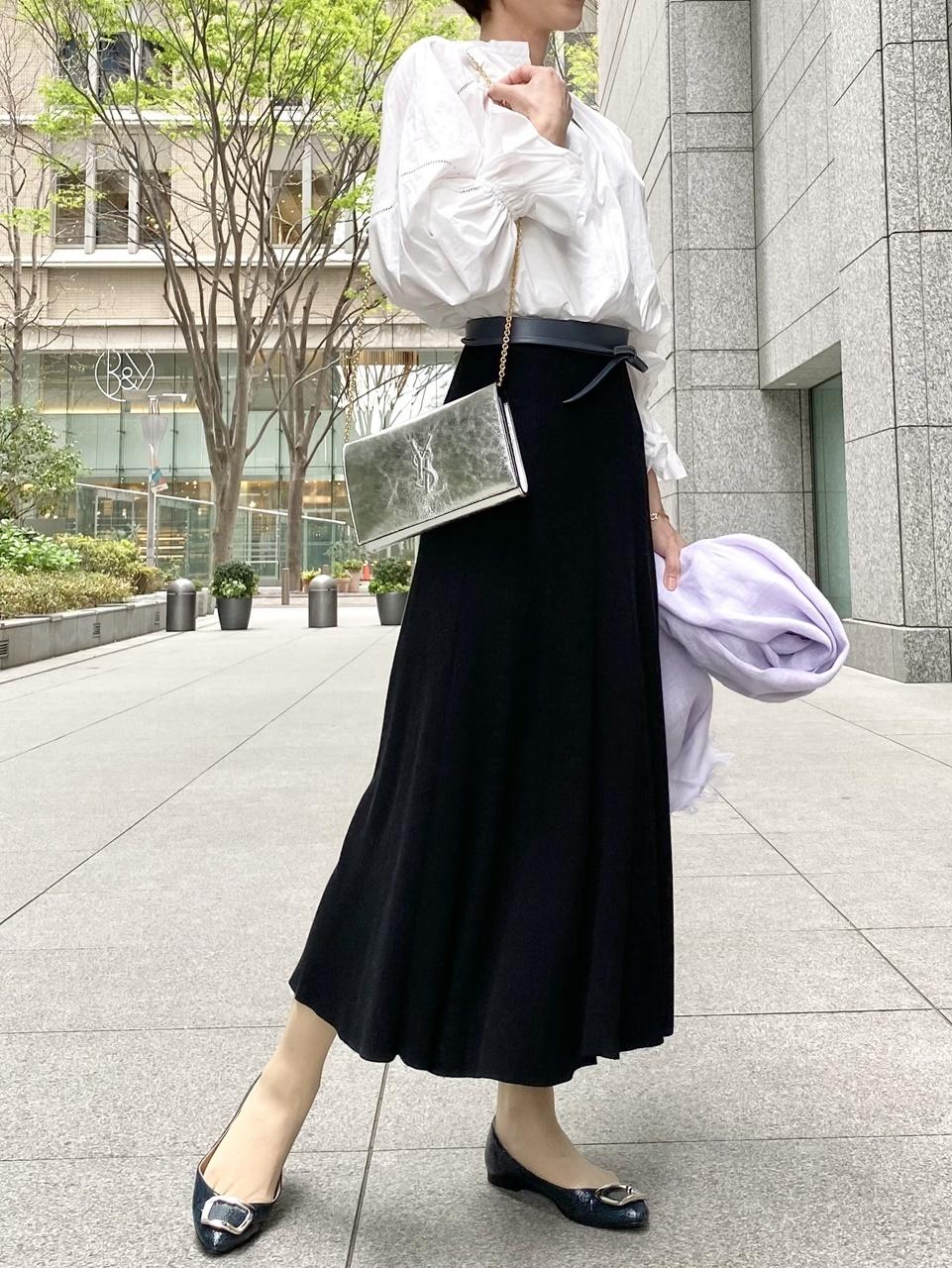 MUSE de Deuxieme Classe黒スカートコーデ①