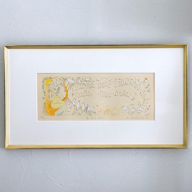 家に飾りたい、山本容子さんの銅版画_1_5