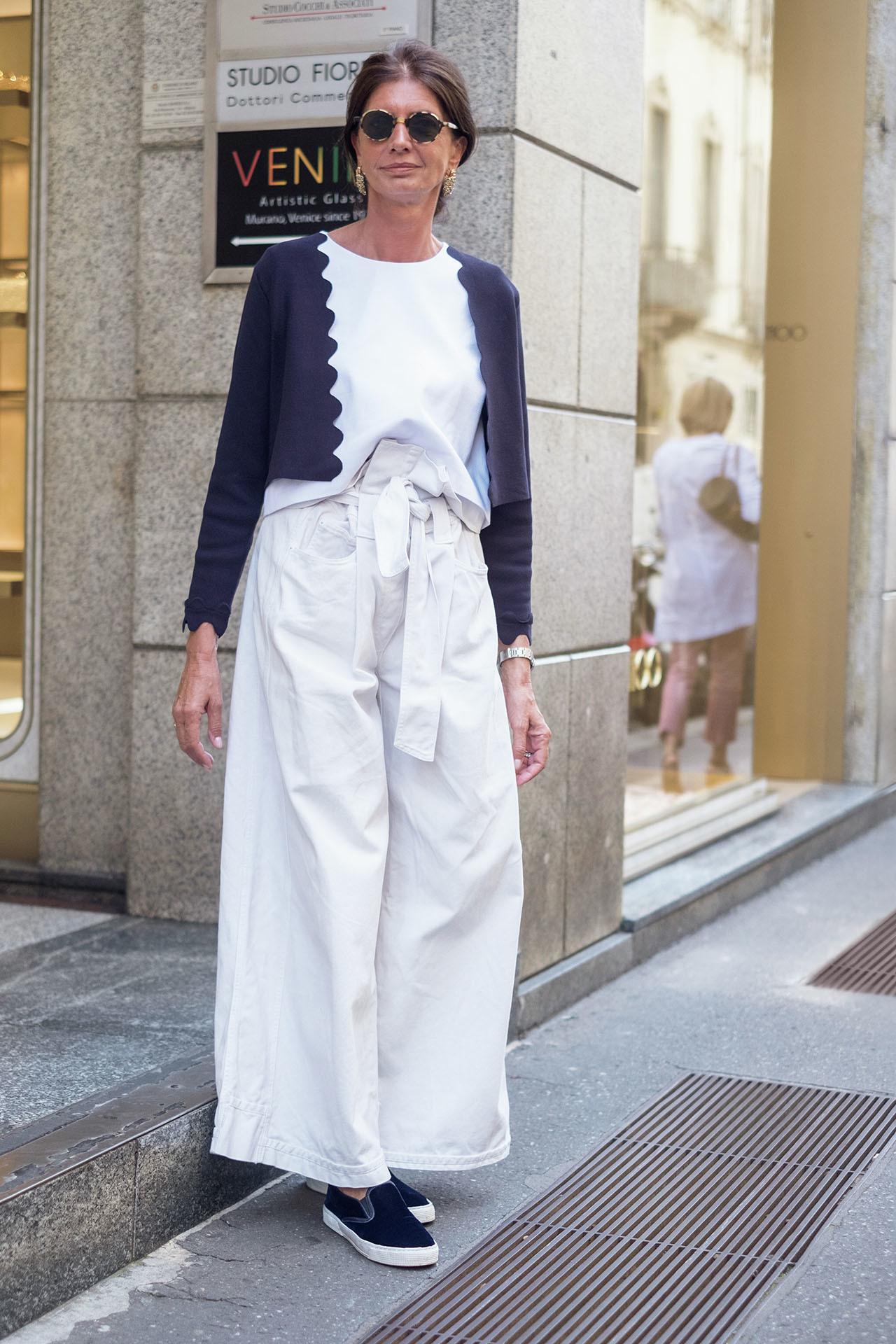 新感覚のおしゃれを楽しむ、ミラネーゼの夏ファッションスナップ 五選_1_1-2