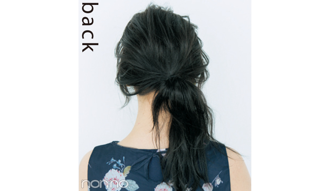 不器用さんでもOK! 輪っかおだんごで黒髪ゆるヘアアレンジ♡ _1_2
