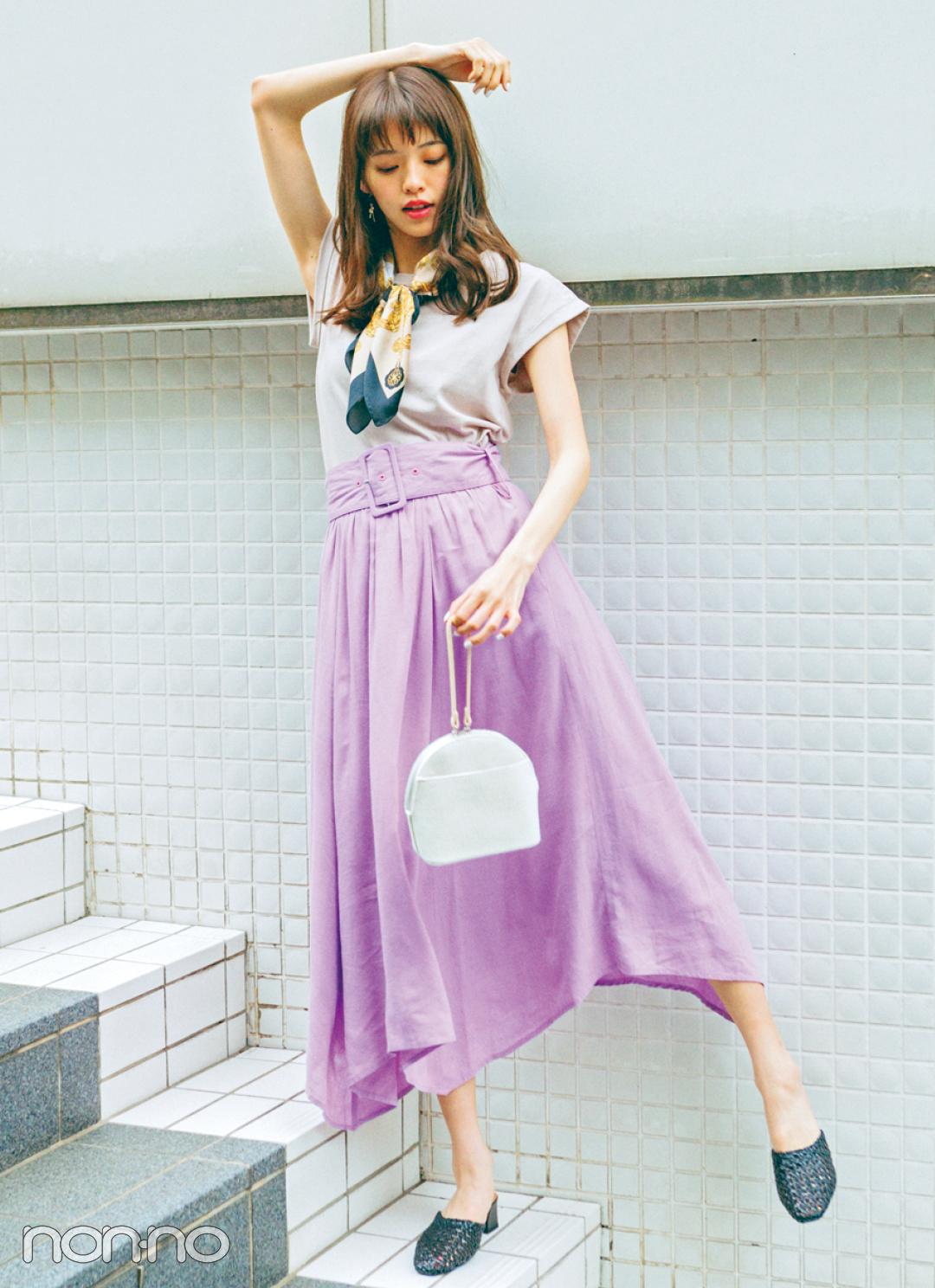 リネンスカートが夏のトレンドに急上昇! ネオナチュ&街リゾに欠かせない!_1_2