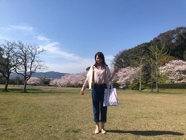 桜満開!お花見コーデ_1_2