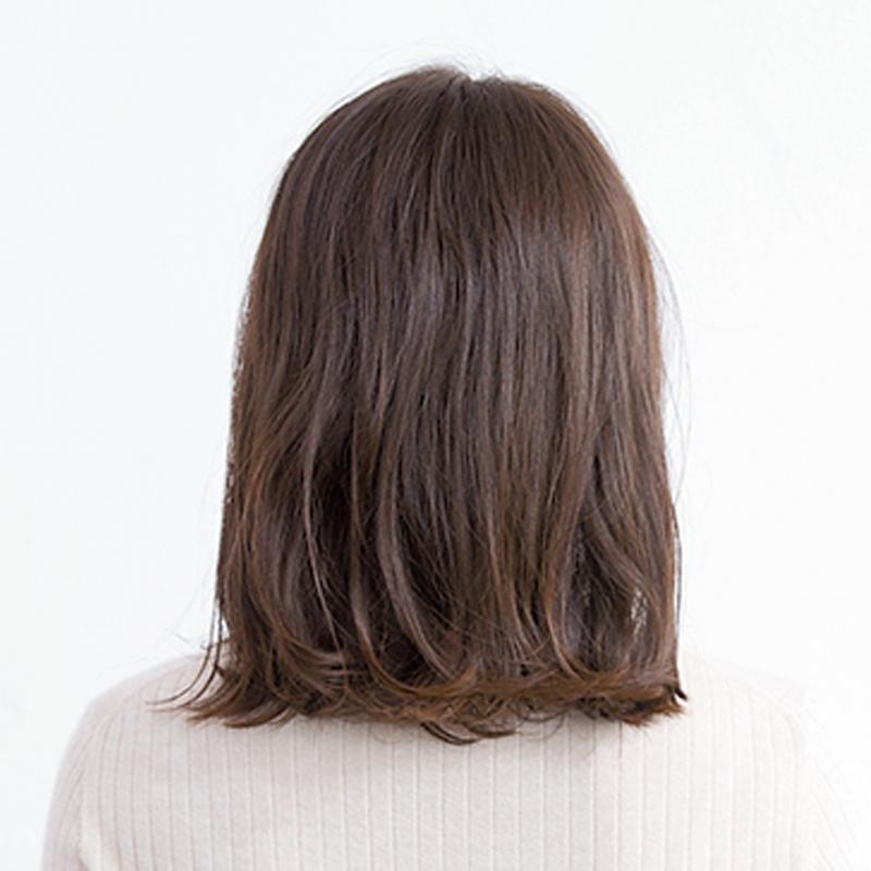 後ろから見た人気ヘアスタイル6位の髪型
