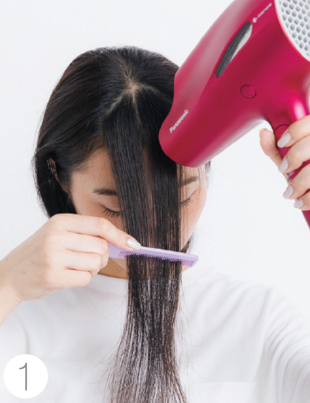 前髪がぱっくり割れてる、寝グセがヤバい…朝の髪形悩み、解決策5選!_1_4-1