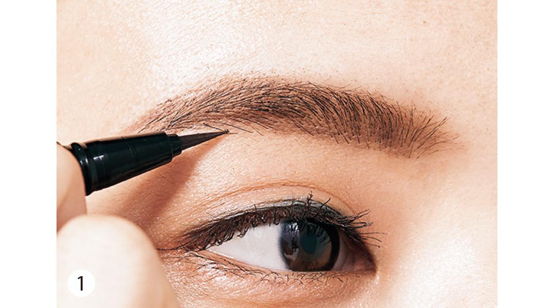 【眉毛を変えたらあか抜けた!②】ほんのり太め&はっきり描いておしゃれ顔! 韓国眉に挑戦♡_1_6