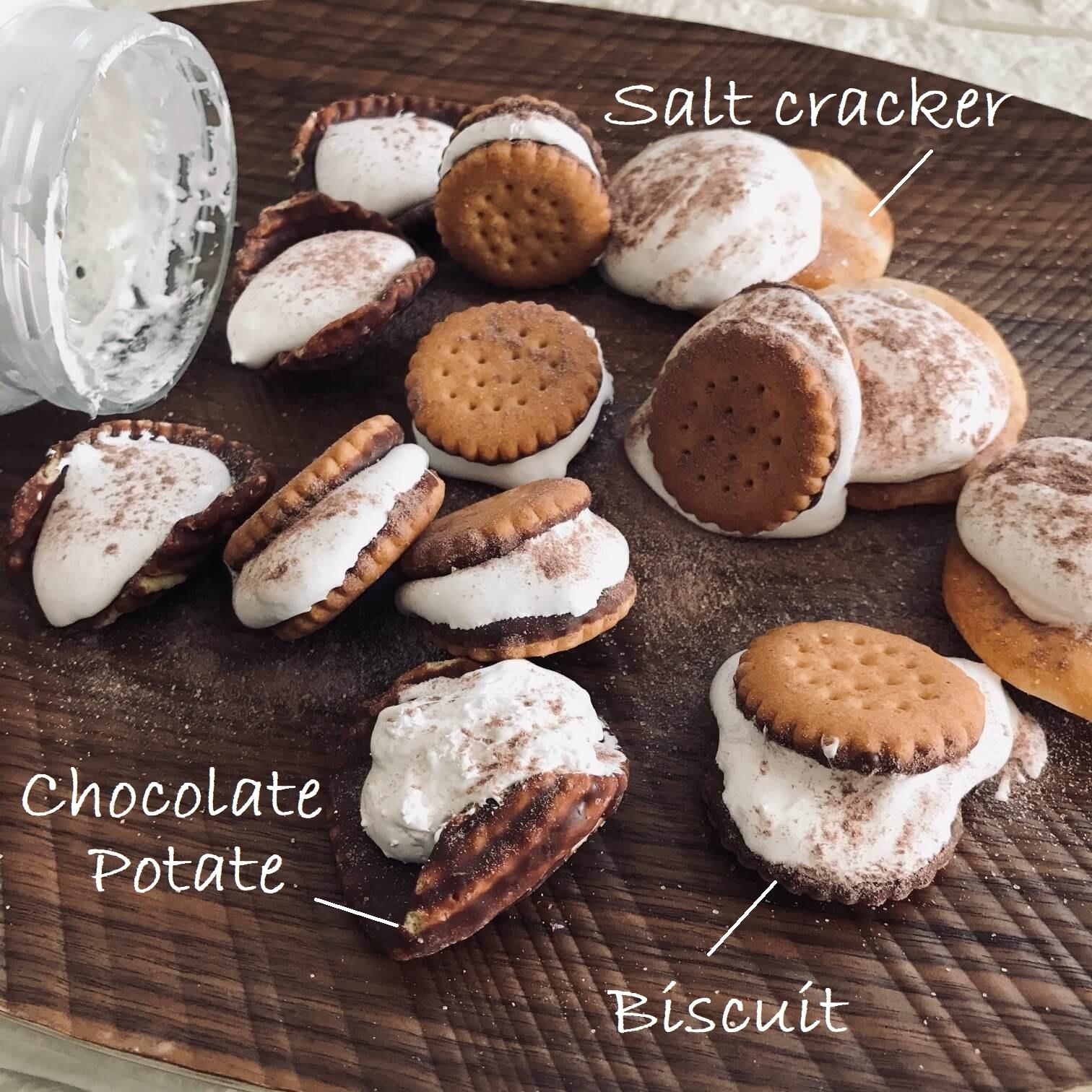 マシュマロクリーム調理例画像