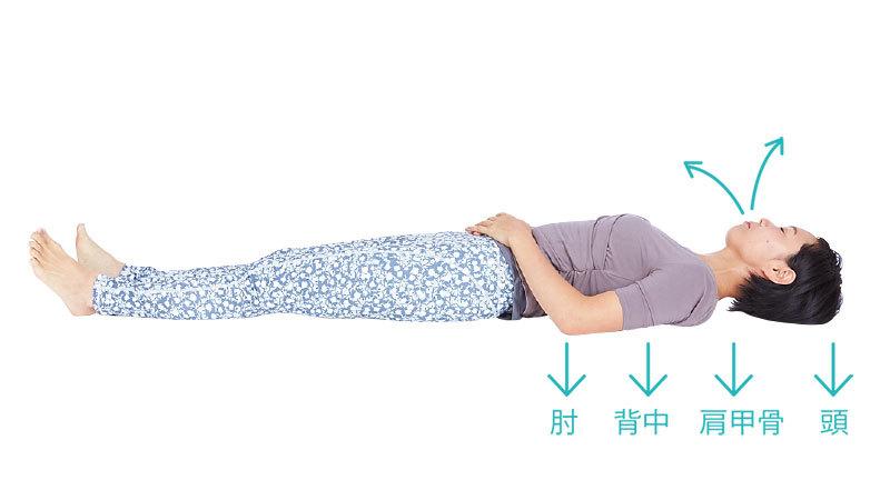 眠る前の腹式呼吸で、深い眠りへ。【キレイになる活】_1_3-4