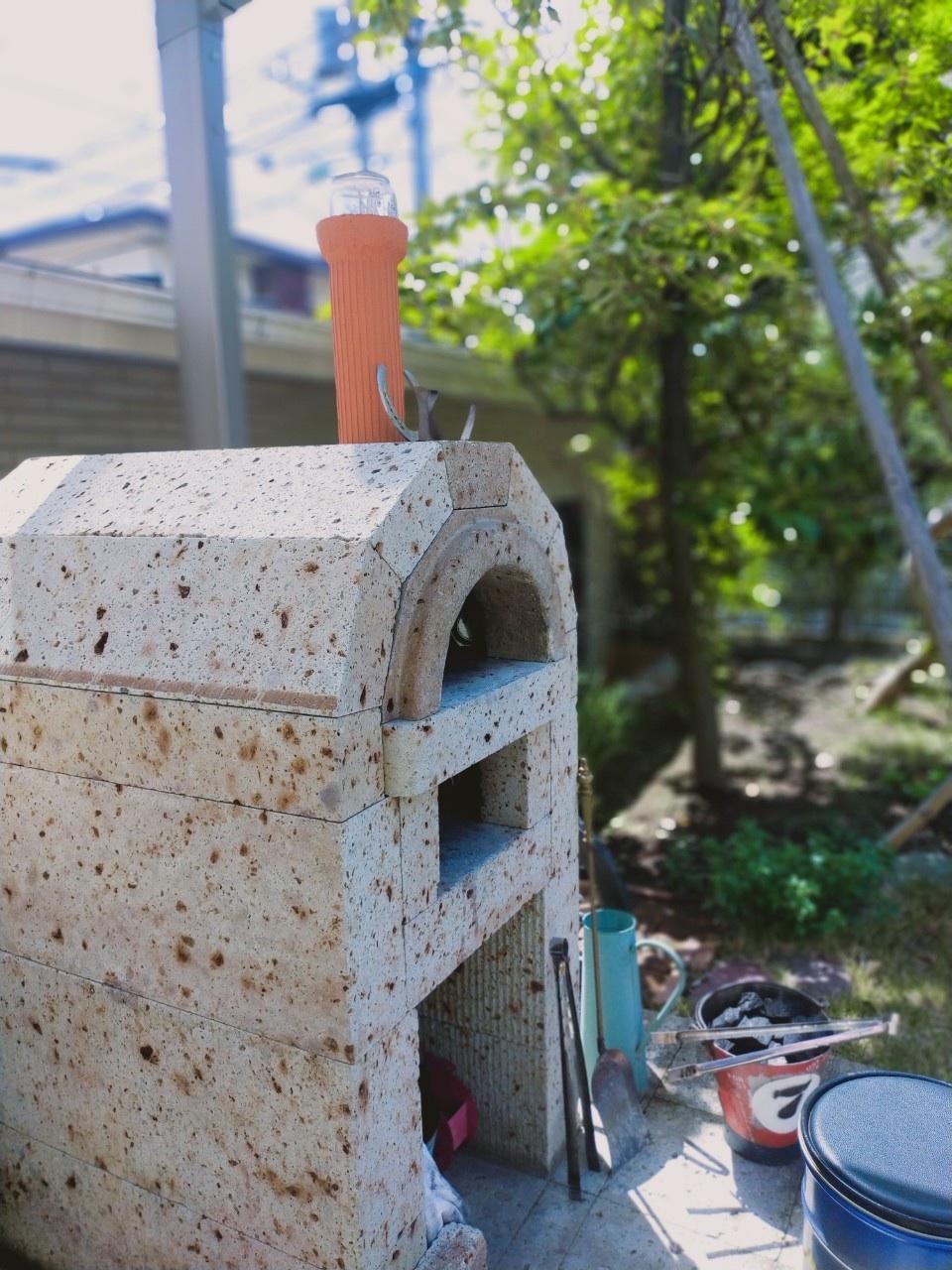 きれい色パフスリーブで石窯ガーデンランチ♪_1_2-1