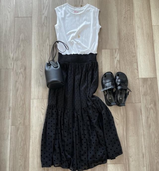 夏真っ盛りの今、クローゼットを整理して夏服を見直す【40代 私のクローゼット】_1_4