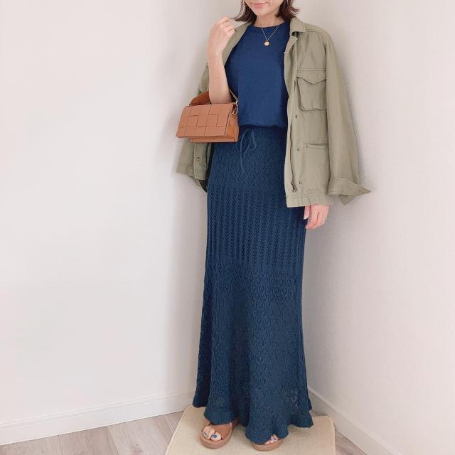 アラフォーのハーフパンツコーデ【momoko_fashion】_1_5-1