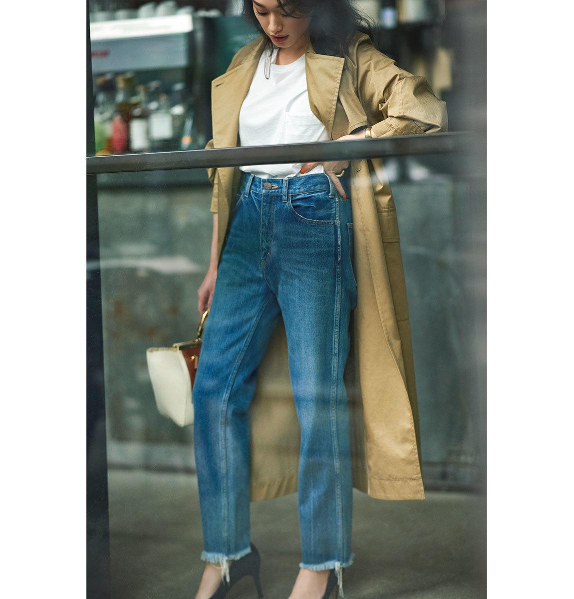 40代が輝く、大人のための上品カジュアルなTシャツコーデカタログ | アラフォーファッション_1_9
