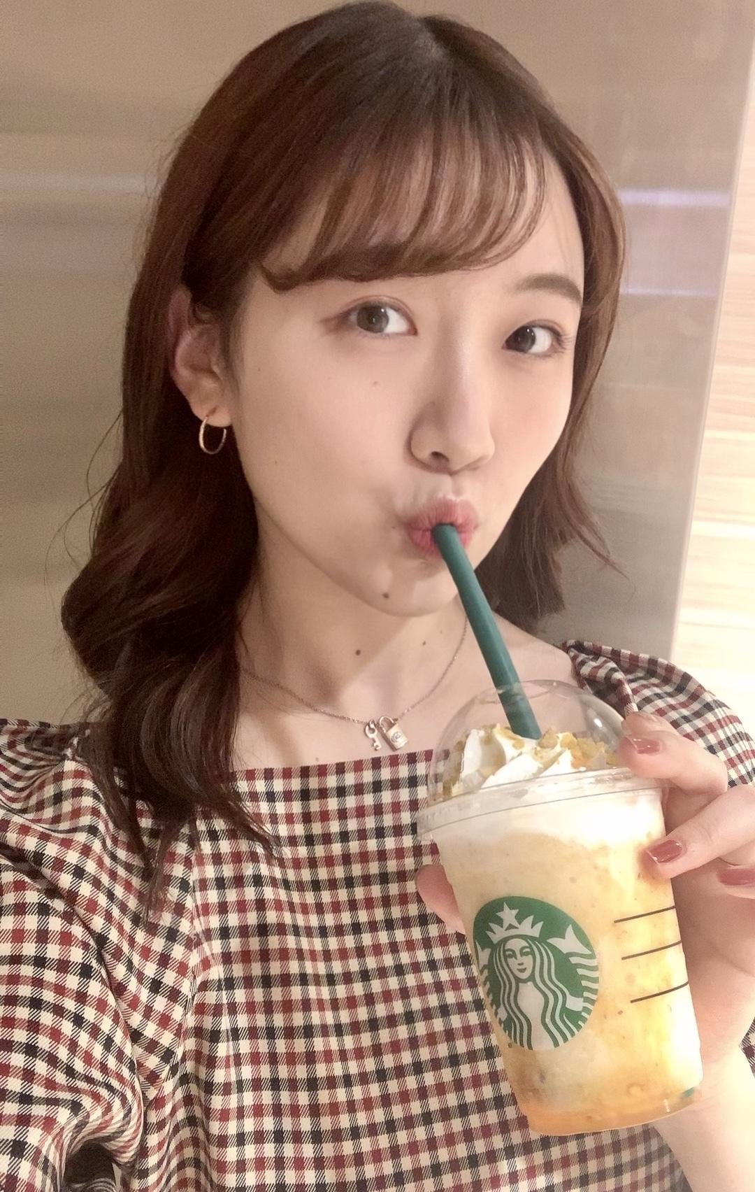 【スタバ】14日発売のオータムスイートポテトフラペチーノを飲んでみた!!_1_6