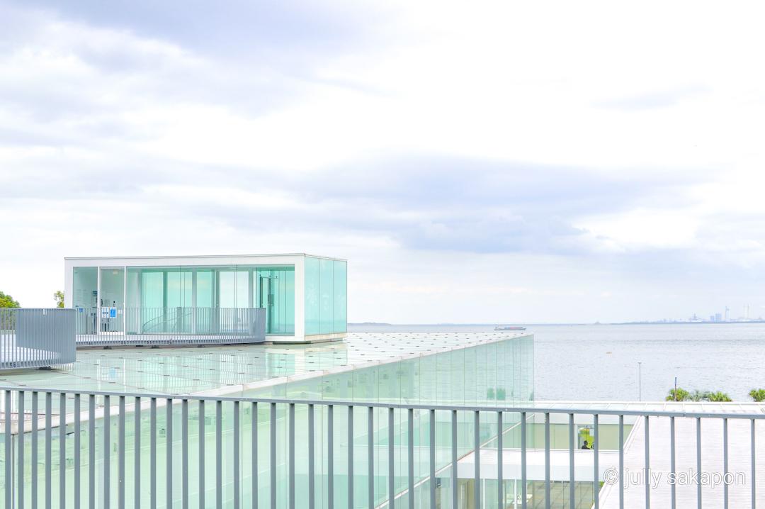 【さかぽんの冒険】空と海に癒される横須賀きっぷ❤️@横須賀美術館_1_1