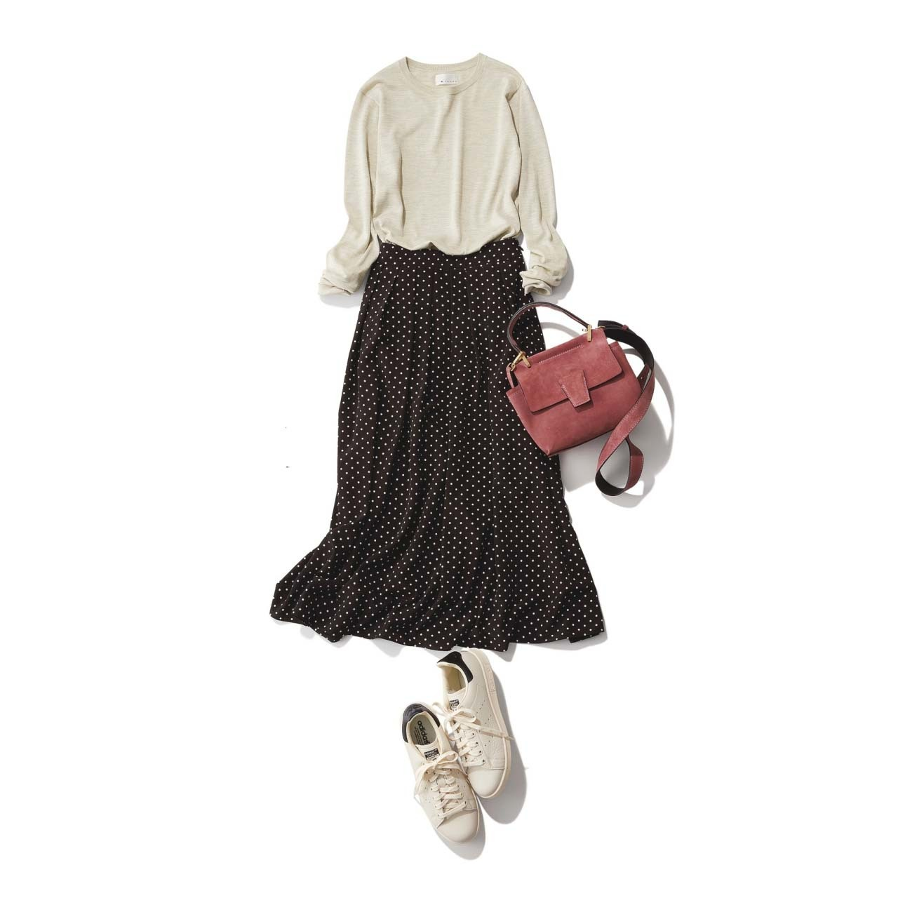 春こそ満喫!アラフォー向け着映えスカート6タイプ|40代レディースファッション_1_29
