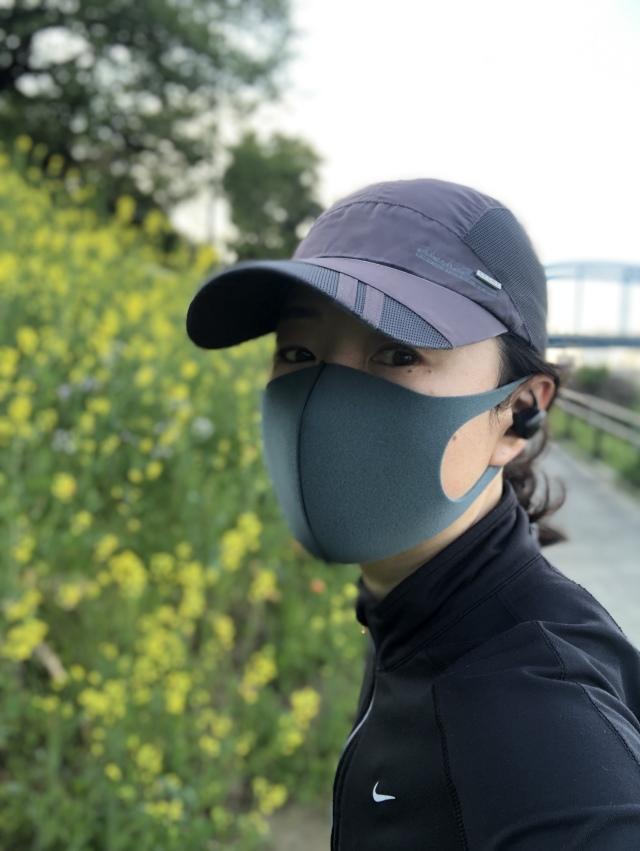 朝 ランニング マスク