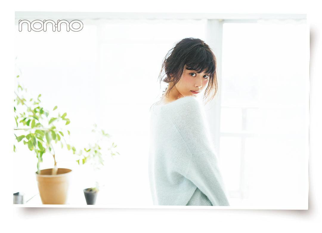 Web限定カットも公開♡ 馬場ふみかの#彼女感ニット_1_2-1