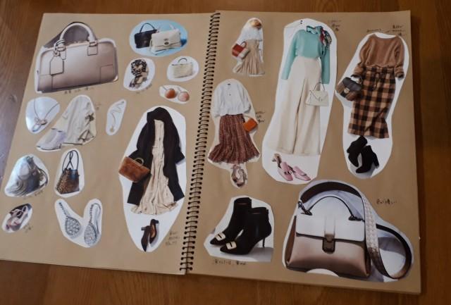 今年のファッションイメージを考えるコラージュ作成_1_1