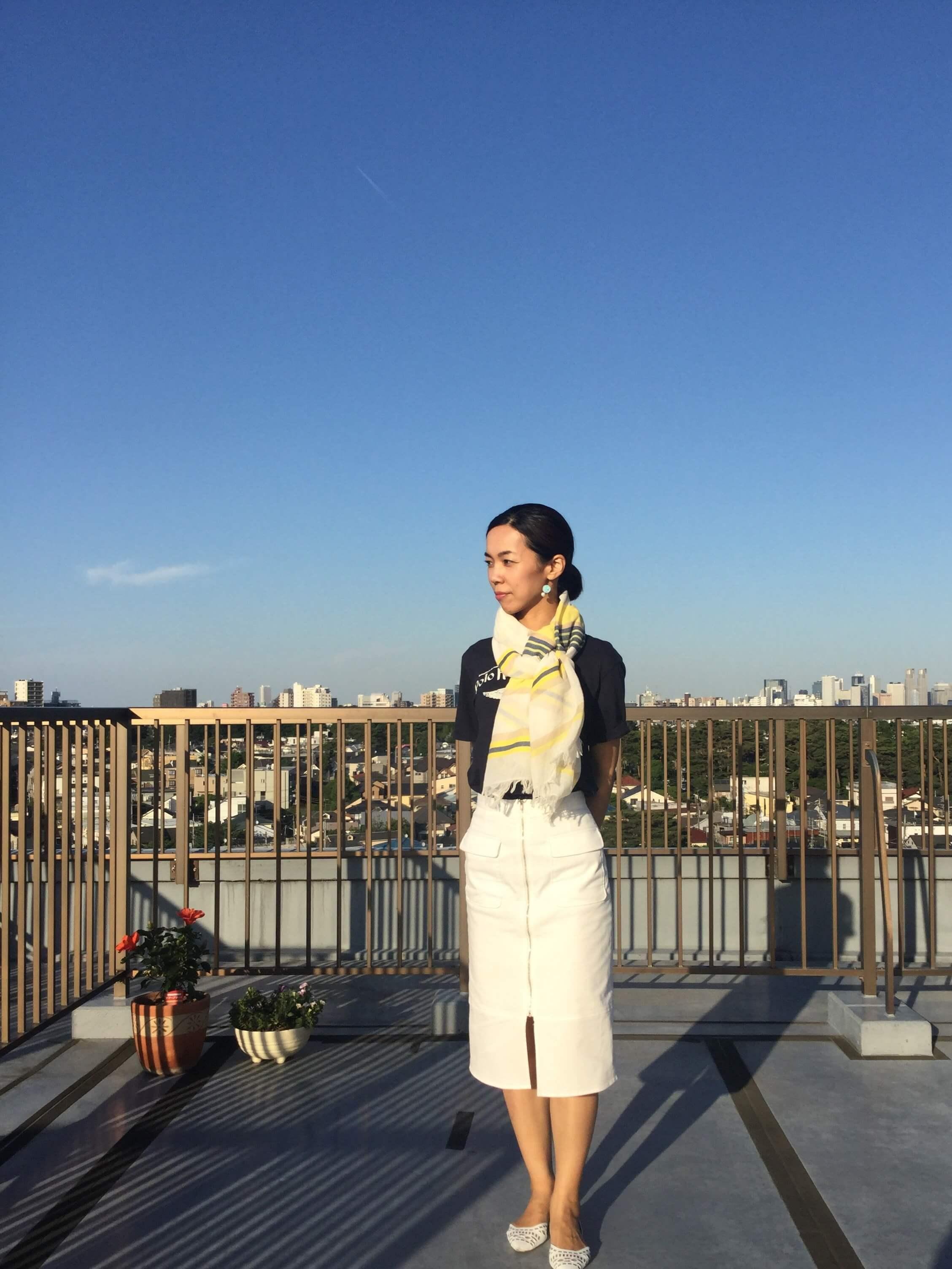 私の「春夏のストール」アレンジ ☆彡Part2 _1_1-10