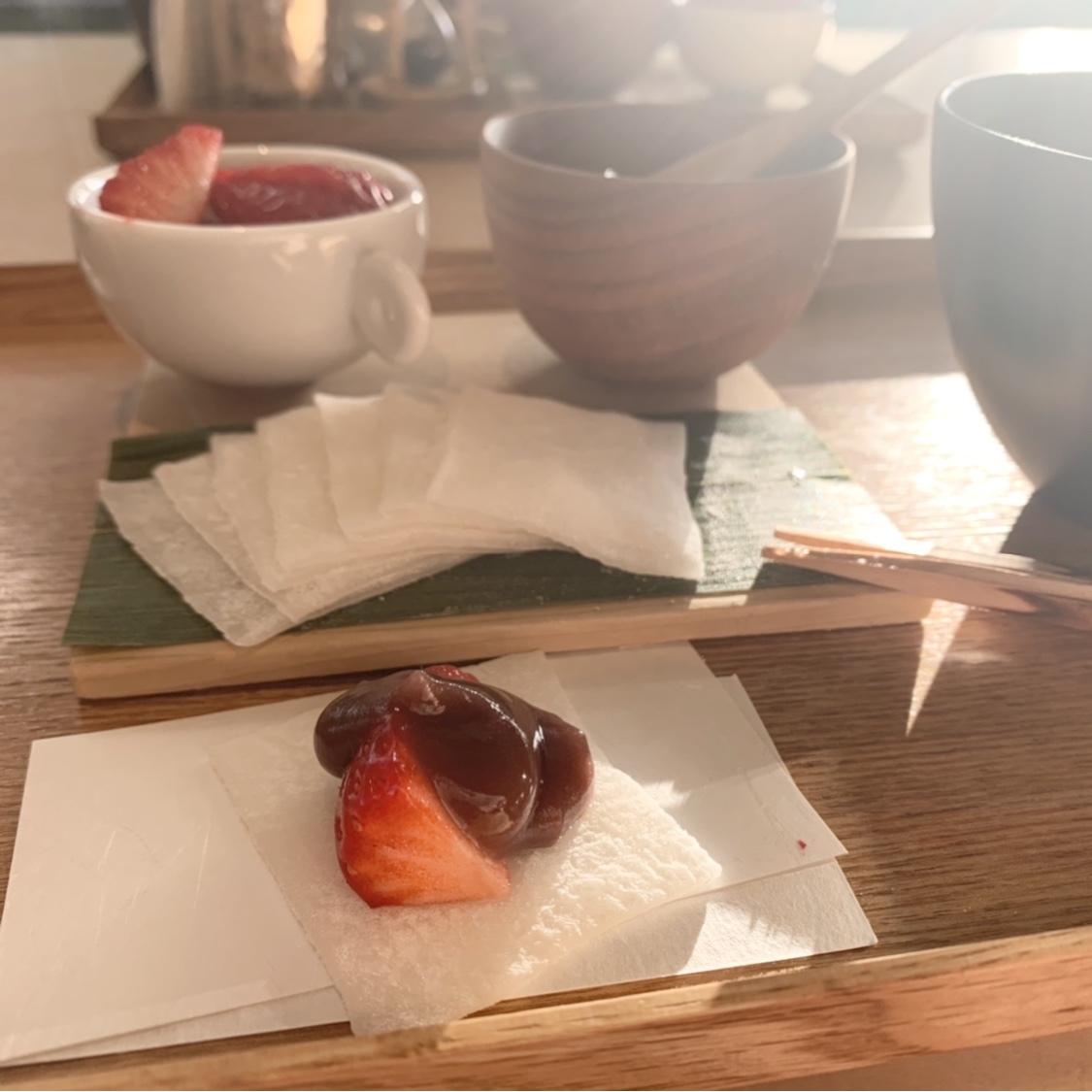 【表参道】冬季限定!苺大福を作れるカフェ!?_1_5