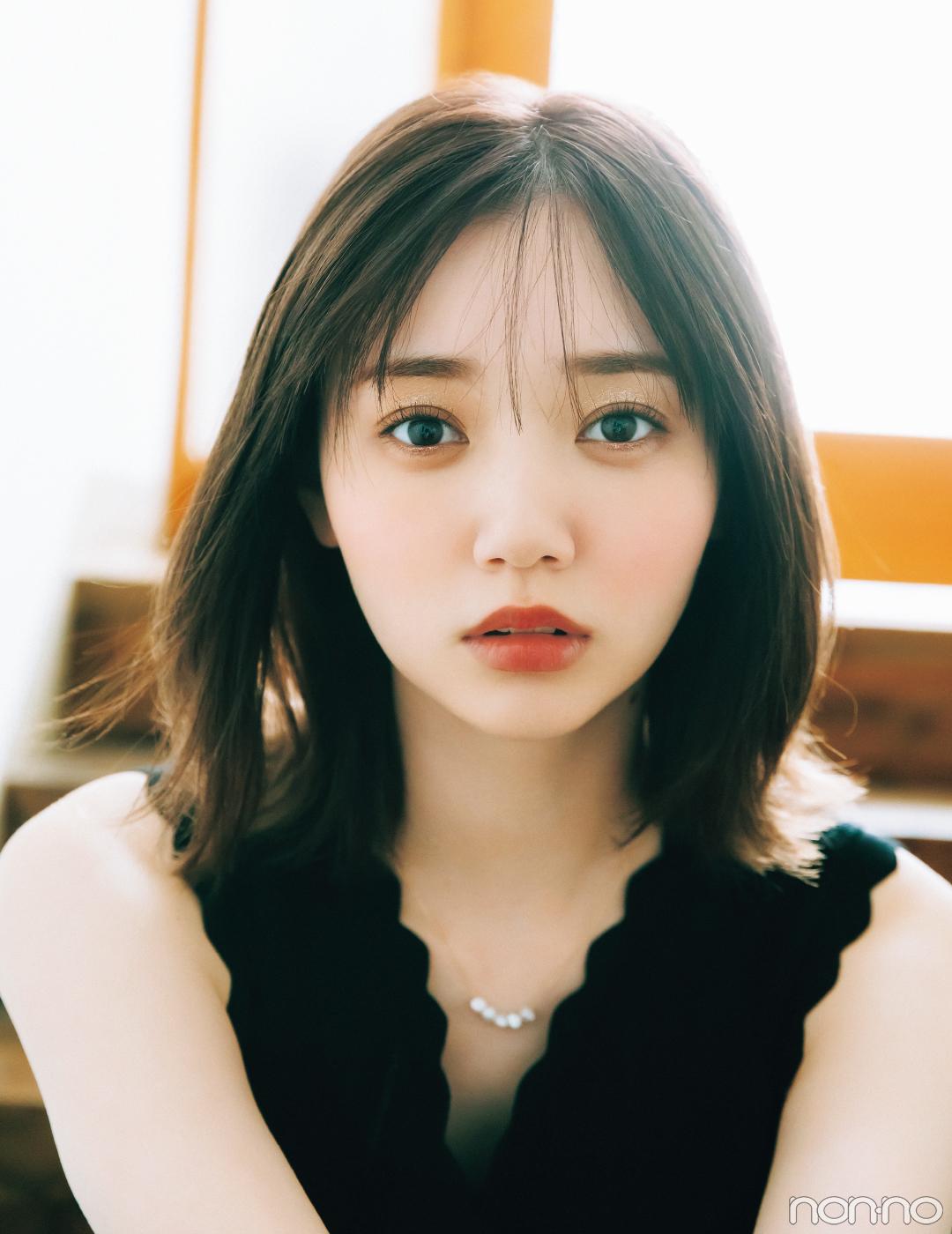 うるみアイとツヤぷるリップメイクの江野沢愛美
