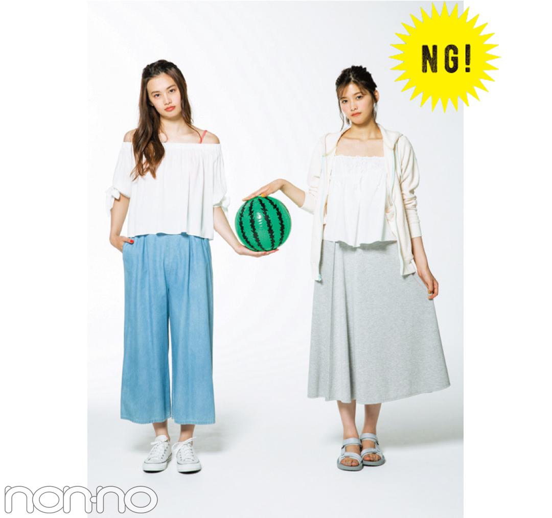 1女&2女の夏合宿コーデ☆川遊びで、夜タイムで、肝試しで何着る!?_1_2