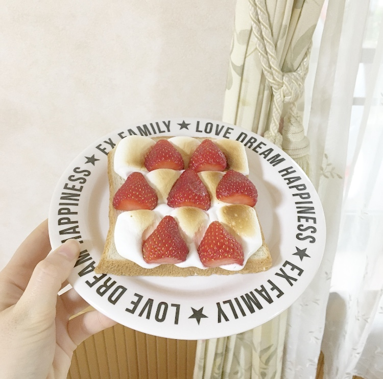 簡単すぎる!朝の映えトースト♡_1_3