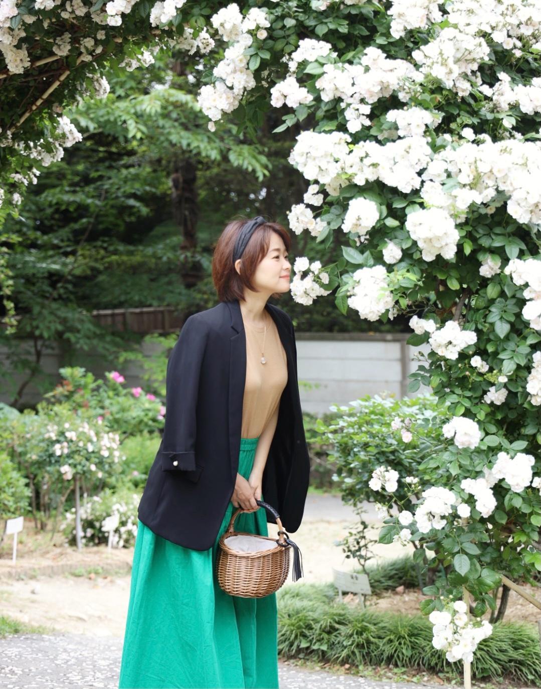 「きれい色マキシスカート」で瞬間着映え♪_1_5