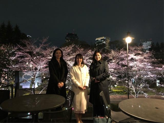 桜を見ながら birthday party♡_1_6