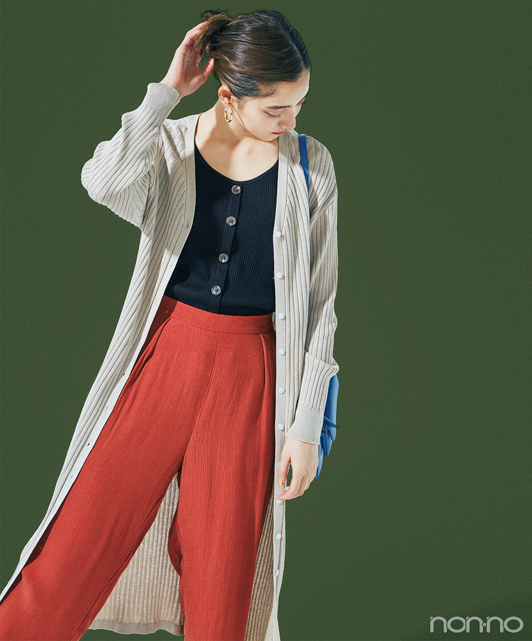 新木優子は初夏のロング&ロングレイヤードでトレンドを楽しむ♡【毎日コーデ】_1_1