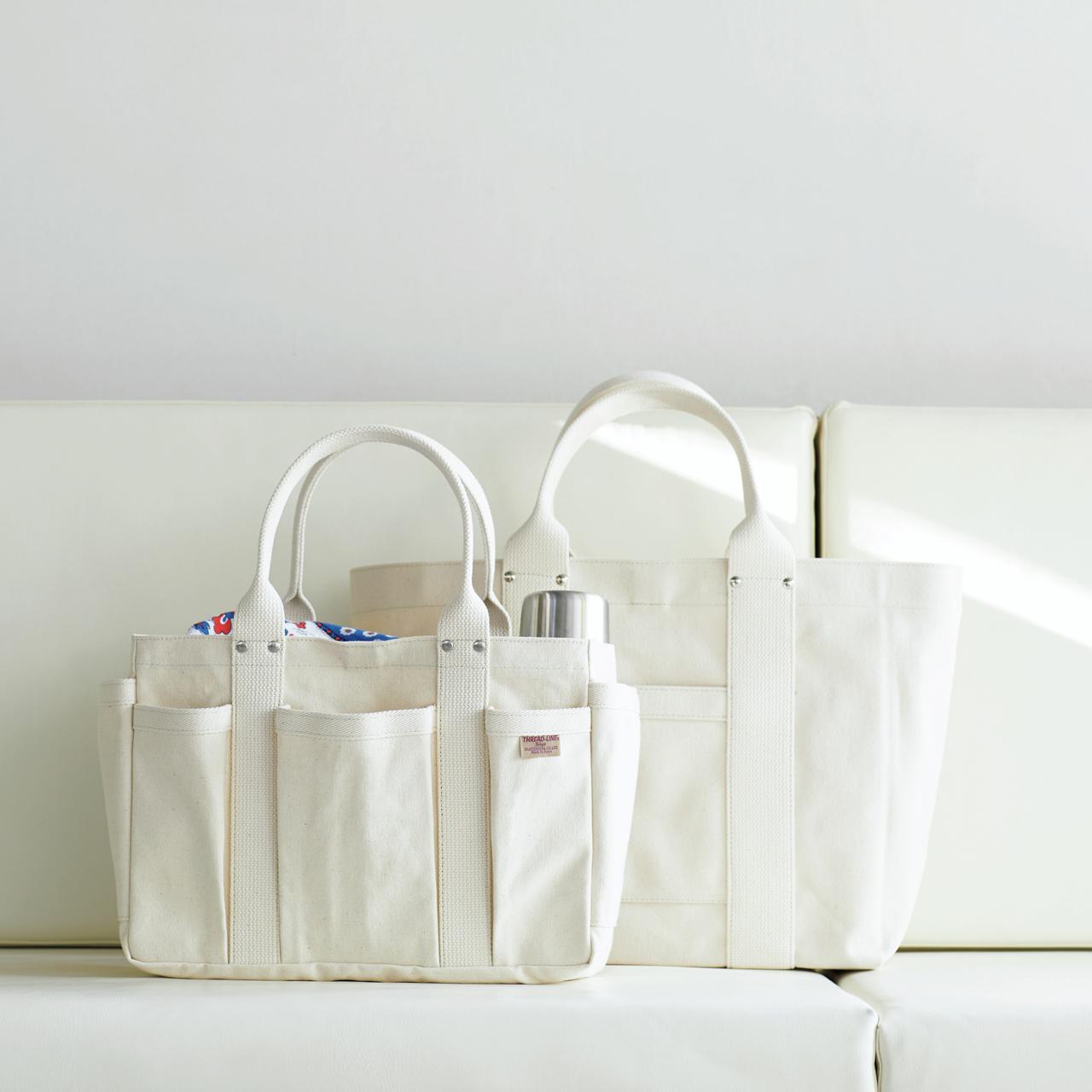 """25年愛され続ける""""シンプルで使いやすい谷中 松野屋のトートバッグ""""【MADE IN JAPANの隠れた名品】_1_1"""