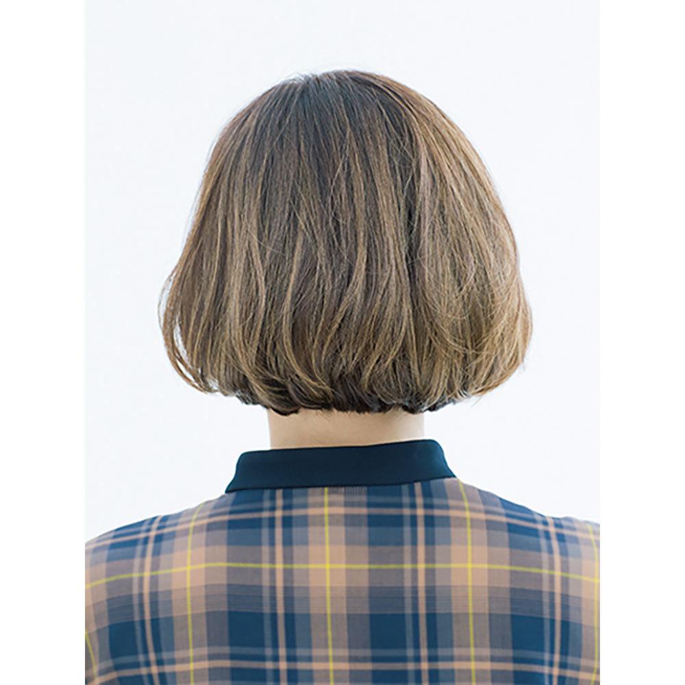 後ろから見た40代に似合う髪型 ボブヘアスタイル人気ランキング3位