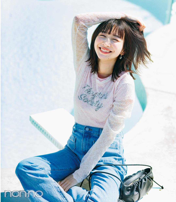 【おうち時間のおしゃれ】Tシャツ_コーデ_女っぽで検索!_1_3
