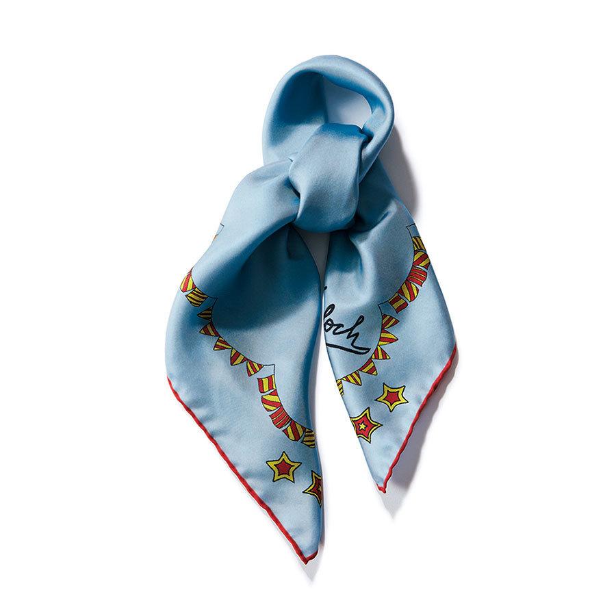 キンロックのシルクスカーフ