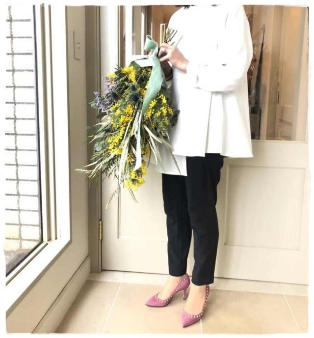 エンフォルドの褒められ白のプルオーバーを着て、ミモザのレッスンへ!!_1_5