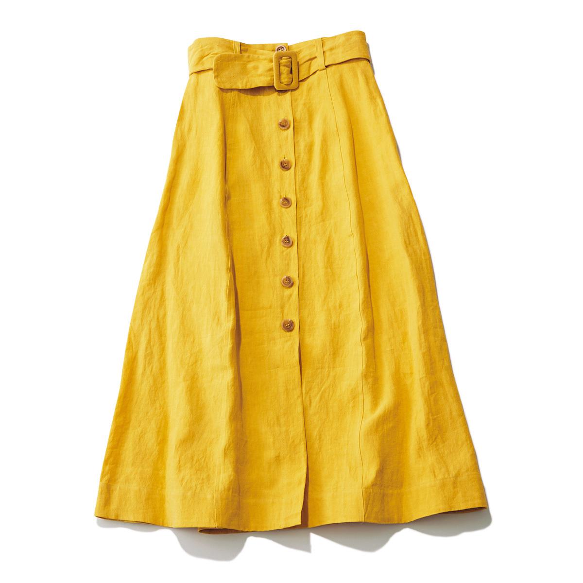 おしゃれプロが買ったキレイ色&モードな白スカート_1_1-1